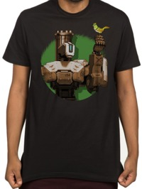 Overwatch Bastion Peacekeeper T-Shirt (XX-Large)