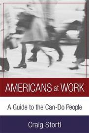 Americans At Work by Craig Storti image