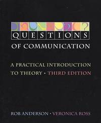 Questions of Communication 3e by R Anderson image