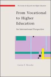 From Vocational to Higher Education: An International Perspective by Gavin Moodie image