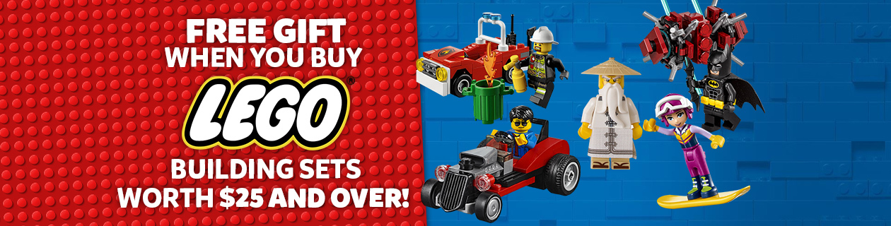 LEGO Gift with purchase!