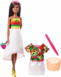 Barbie: Crayola Rainbow Fruit - Surprise Doll (Strawberry)