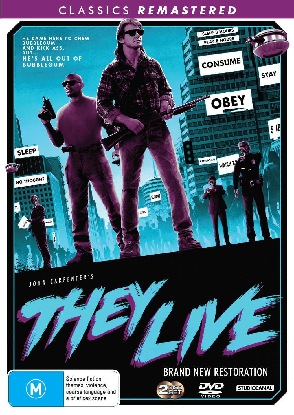 They Live on DVD image