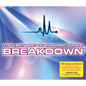 The Very Best Of Euphoric Dance Breakdown by Various Artists image