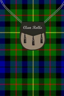 Clan Rollo Tartan Journal/Notebook by Clan Rollo