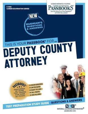 Deputy County Attorney by National Learning Corporation image