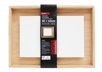 Jasart: Framed Floating Canvas Panel (30x40cm)