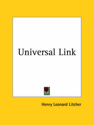 Universal Link (1934) by Henry Leonard Litcher image
