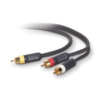 Belkin Composite Video & Audio Cable Kit 0.9m image