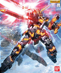 MG 1/100 RX-0 Unicorn Gundam 02 Banshee - Model Kit