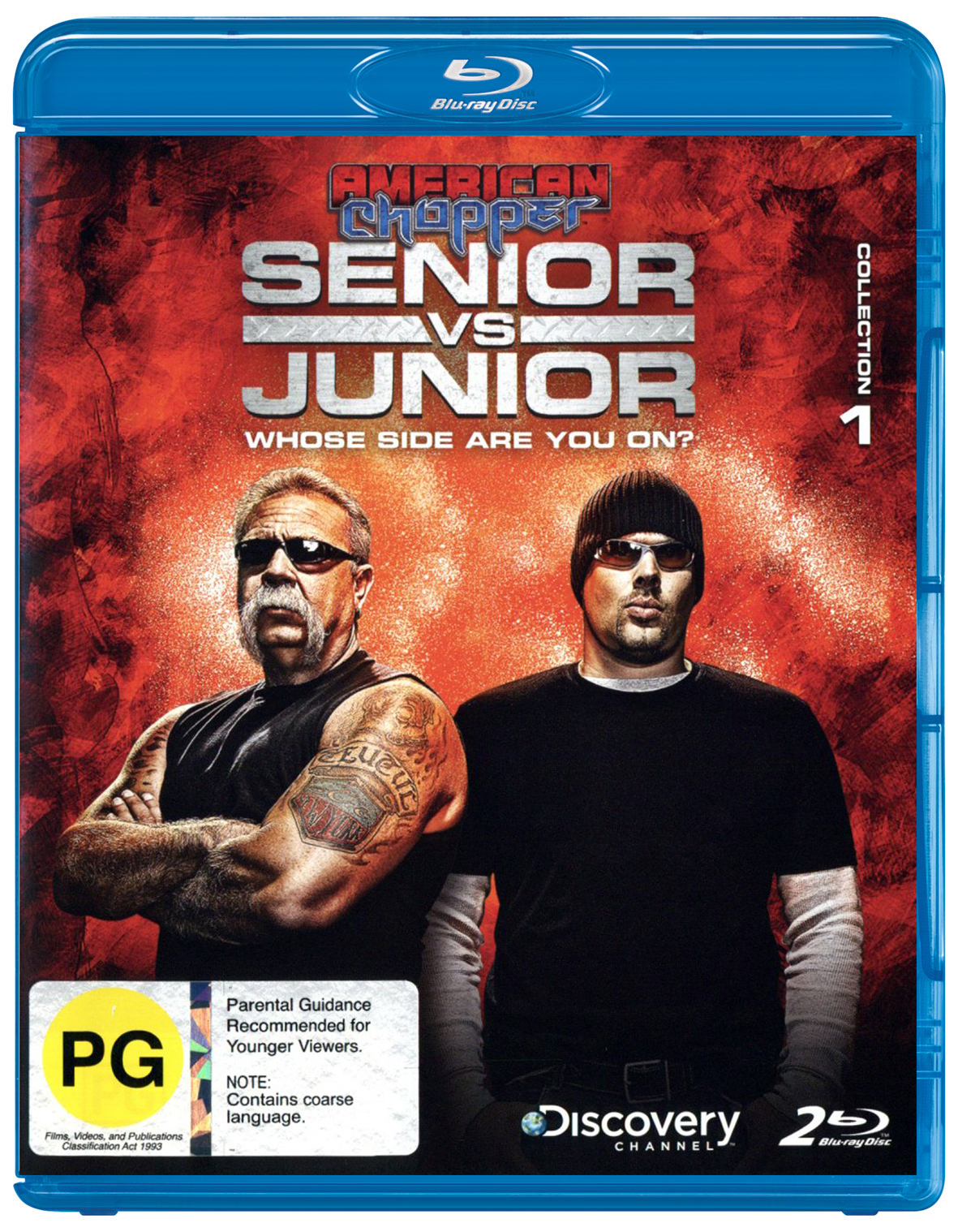 American Chopper: Senior vs Junior (Blu-ray)
