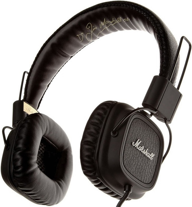 Marshall Major Pro Stereo Headphones (Black)