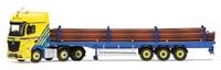 Corgi: 1/50 Mercedes-Benz Actros (MP4), Flatbed Trailer, Middlebrook Transport Ltd