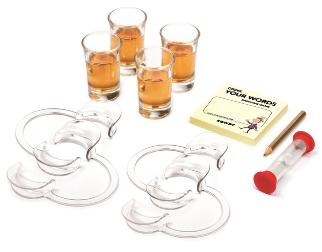 Drink Your Words - Adult Party Game