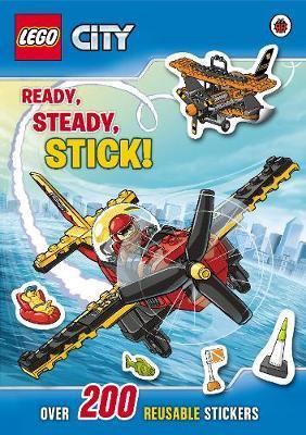 LEGO City: Ready, Steady, Stick Sticker Book by LEGO City image