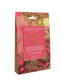 Morgan & Grace Body Pamper Packs -Party Time (Rosehip & Almond)