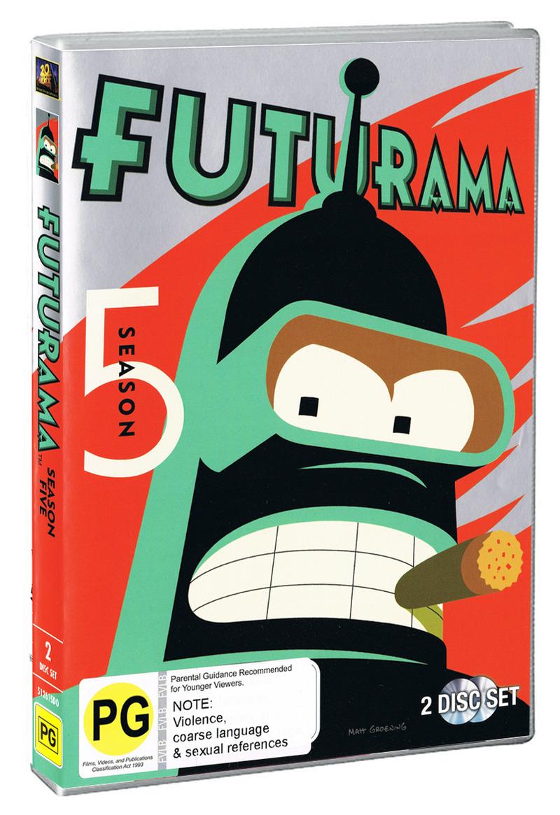 Futurama - Season 5 on DVD image