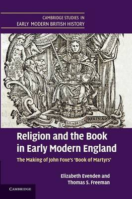 Religion and the Book in Early Modern England by Thomas S. Freeman