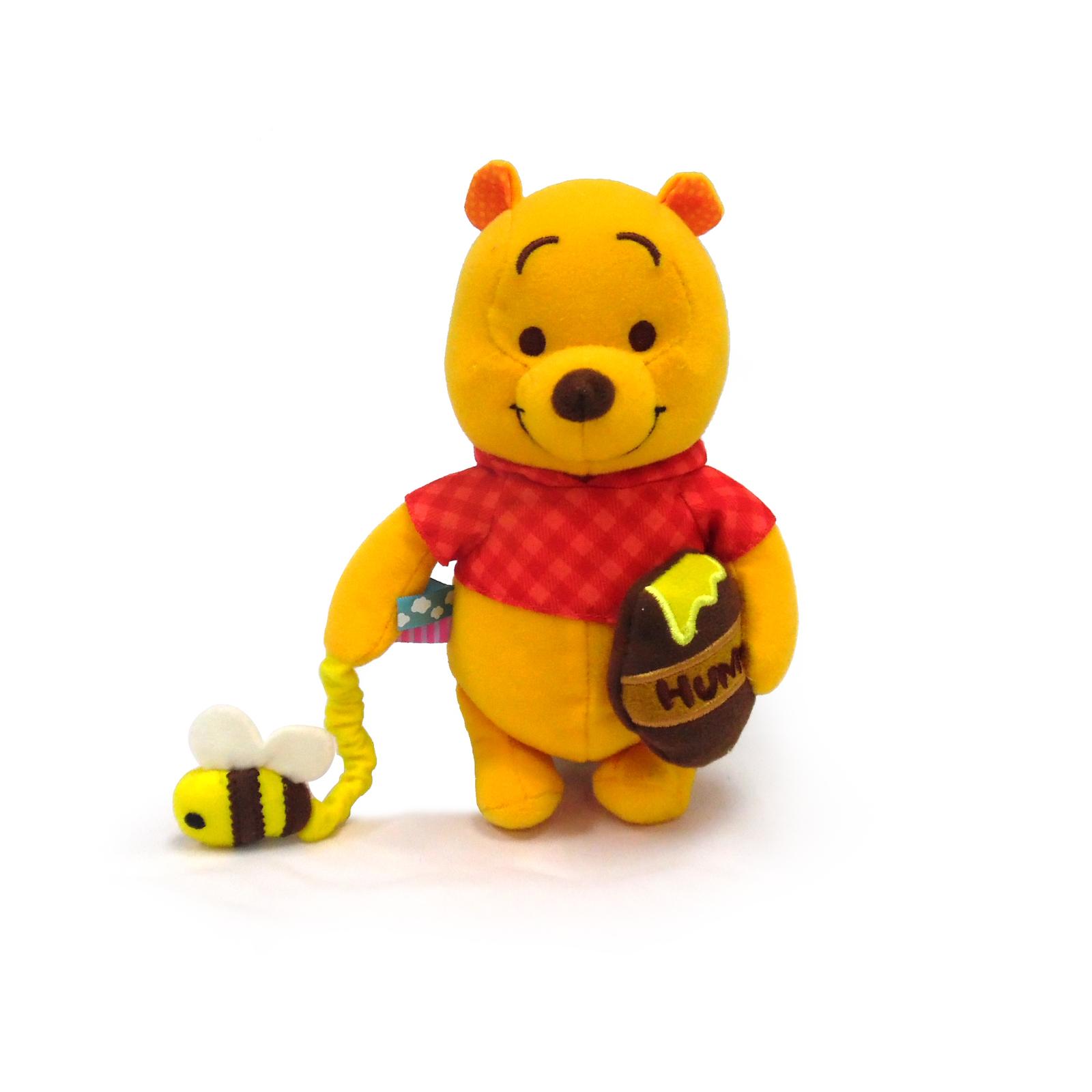 Winnie the Pooh Plush Pram Toy image