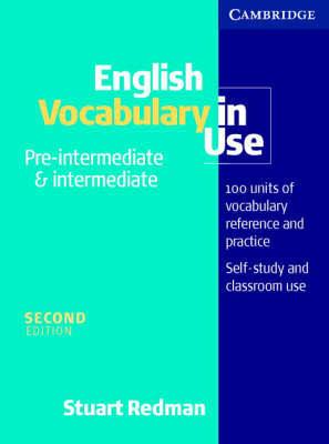 English Vocabulary in Use Pre-intermediate and Intermediate by Stuart Redman image