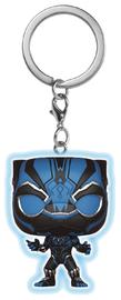 Black Panther (Blue Glow) - Pocket Pop! Key Chain