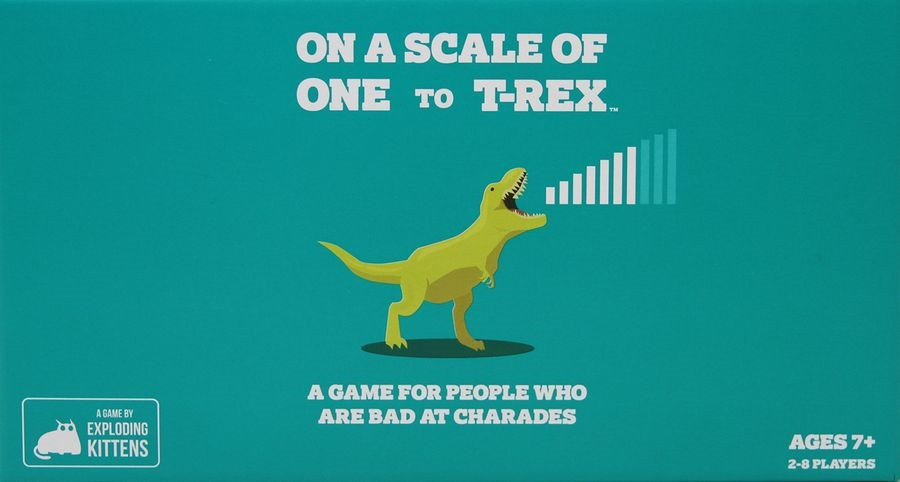 On A Scale of One to T-Rex image