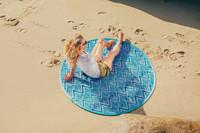 Picnic Time: Pop-Up Blanket - Watercolor Chevron Pattern