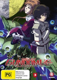 Mobile Suit Gundam Unicorn Vol. 03 on DVD