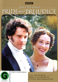 Pride and Prejudice Remastered on DVD