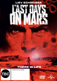 The Last Days on Mars DVD