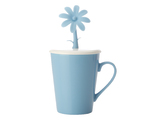 Doozie Bloom Mug with Lid (310ml) - Blue
