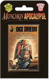Munchkin: Apocalypse - Judge Dredd Expansion Set