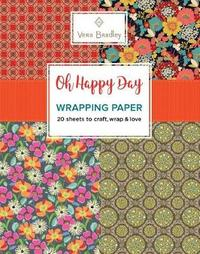 Vera Bradley Oh Happy Day Wrapping Paper by Vera Bradley