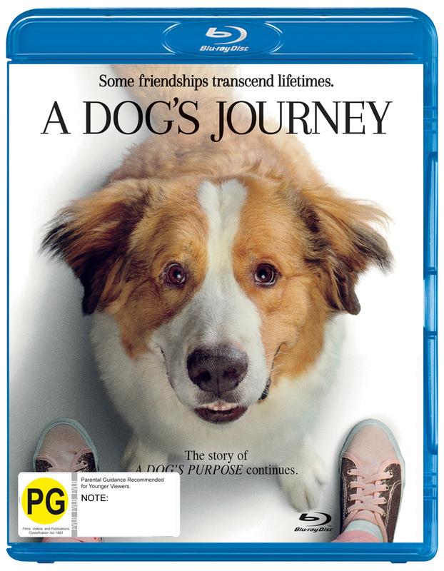 A Dog's Journey on Blu-ray
