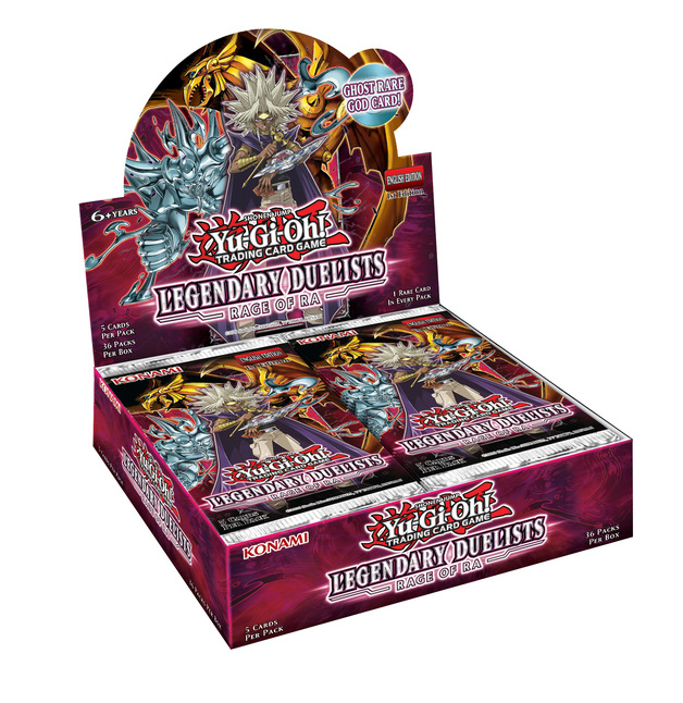 Yu-Gi-Oh! Legendary Duelists Rage of Ra Booster Box (Unlimited)