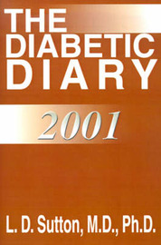 The Diabetic Diary by Larry Sutton image