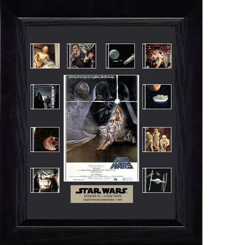 FilmCells: Mini-Montage Frame - Star Wars (A New Hope) image