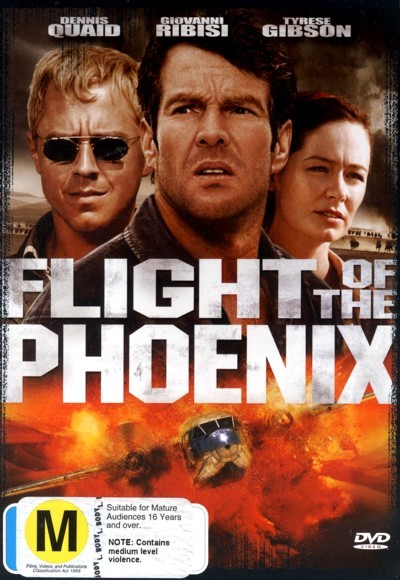 Flight Of The Phoenix on DVD
