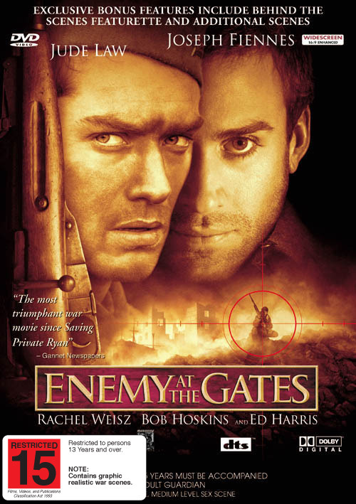 Enemy At The Gates on DVD