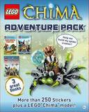 LEGO Legends of Chima: Adventure Pack (3 Books + Model)