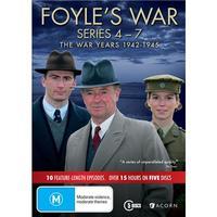 Foyle's War: The War Years 1942-1945 (Series 4 - 7) on DVD