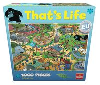 That's Life 1,000 Piece Jigsaw (Zoo) image