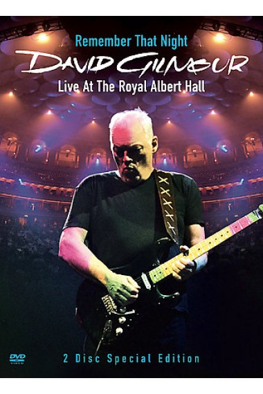 David Gilmour - Remember That Night: Live At The Royal Albert Hall (2 Disc Set) on DVD image