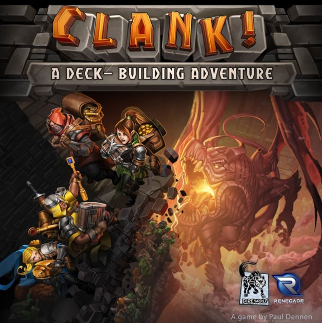 Clank! - A Deck-Building Adventure