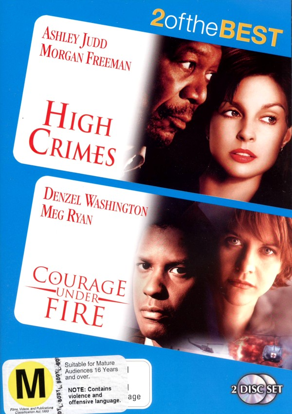 High Crimes / Courage Under Fire (2 Disc Set) on DVD image