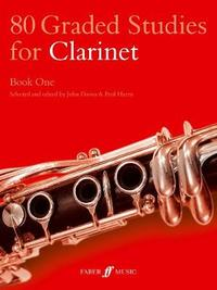 80 Graded Studies for Clarinet Book One by John Davies image