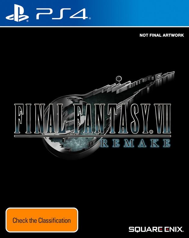 Final Fantasy VII Remake for PS4
