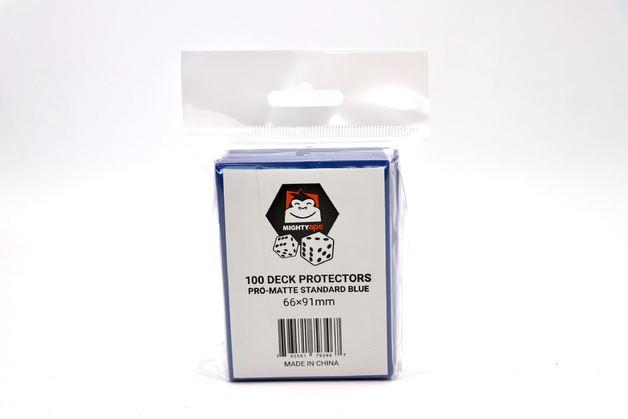 Mighty Ape Deck Protectors Pro-Matte Standard Blue (100)