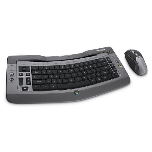 Microsoft Wireless Entertainment Desktop 7000 Silver
