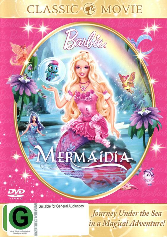 Barbie: Mermaidia on DVD